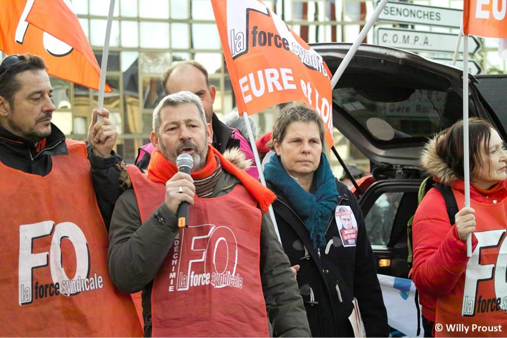 Grève générale ! [Chartres 11-01-2020]