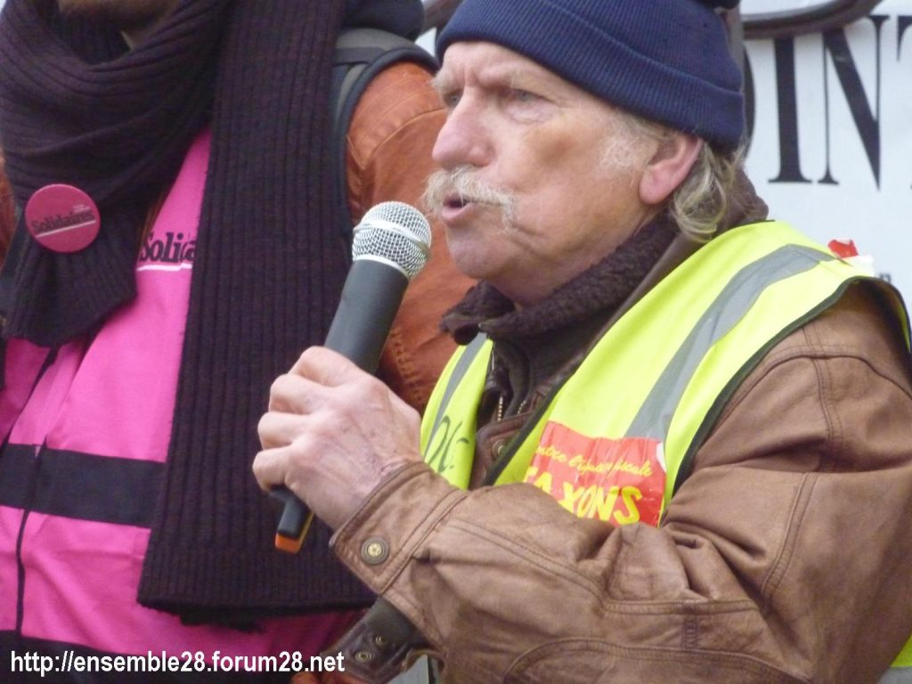 Chartres 24-01-2020 Manifestation Retraites 16