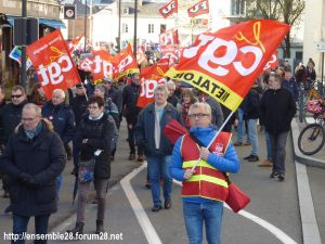 Chartres 29-01-2020 Manifestation Retraites 04