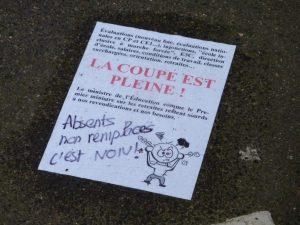 Chartres DSDEN 24-01-2020 Rassemblement La coupe est plaine Carte-scolaire Retraites 00