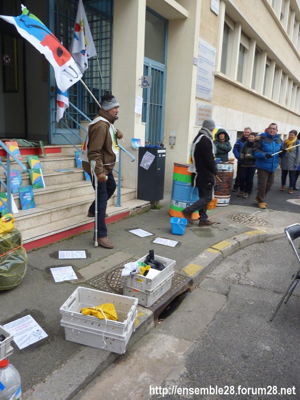 Chartres DSDEN 24-01-2020 Rassemblement La coupe est plaine Carte-scolaire Retraites 06