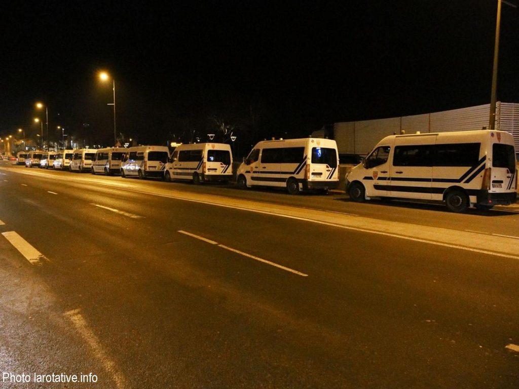 Tours 22-01-2020 Évacuation Fac Tanneurs par CRS 1