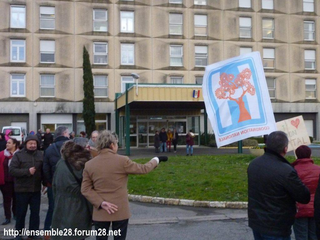 Châteaudun 14-02-2020 Rassemblement J'aime mon hôpital 09