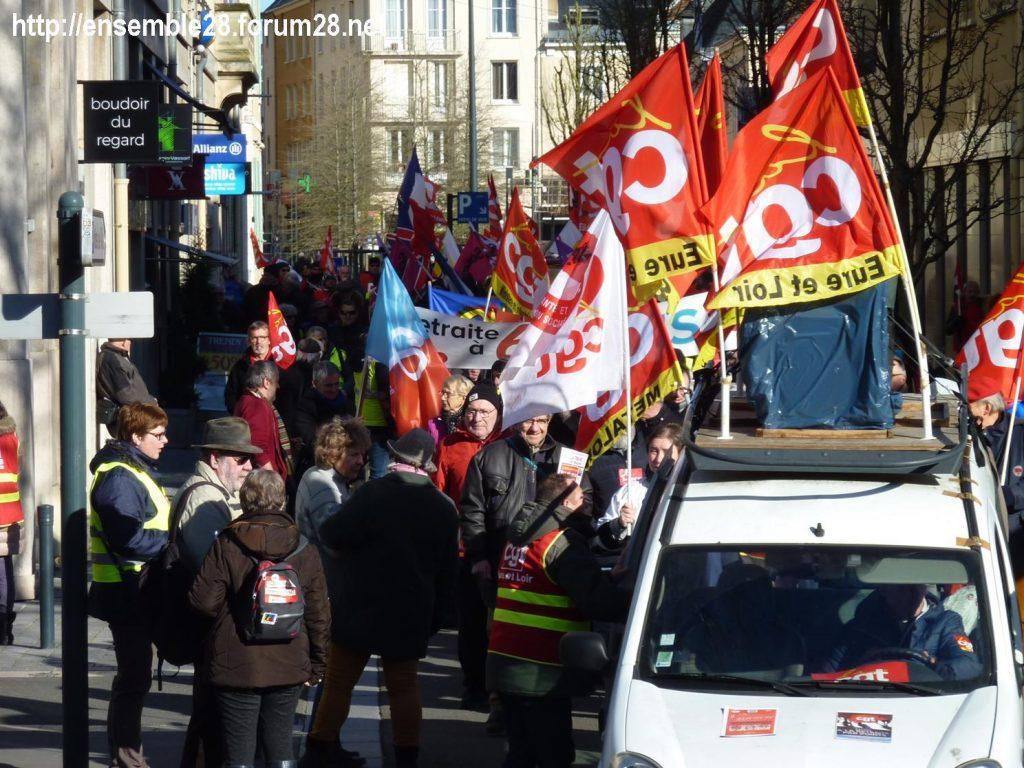 Chartres 06-02-2020 Manifestaion Retraites 05bis