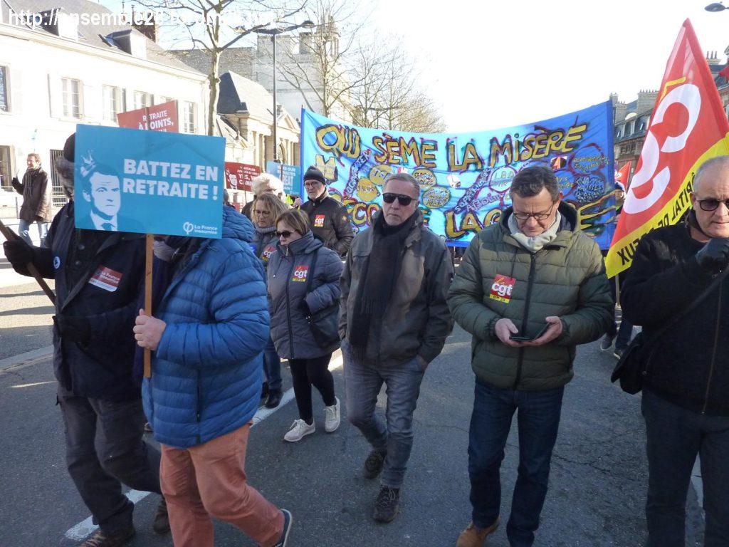 Chartres 06-02-2020 Manifestaion Retraites 08