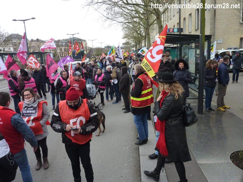 Chartres 20-02-2020 Rassemblement-Manifestation Retraites 06