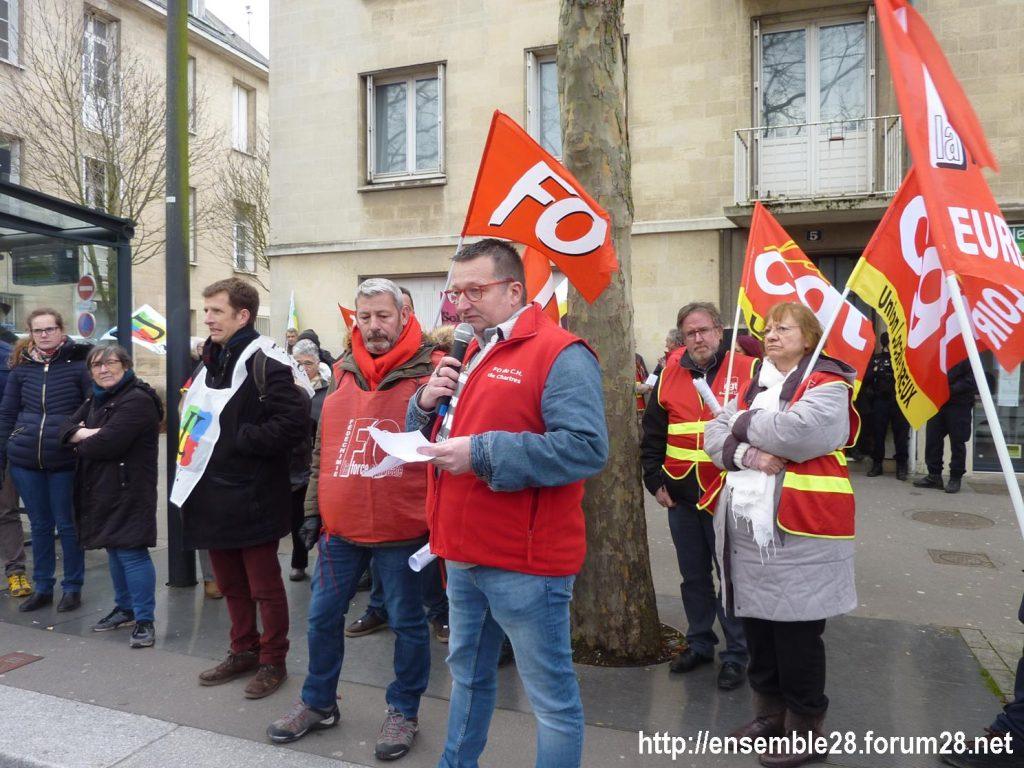 Chartres 20-02-2020 Rassemblement-Manifestation Retraites 08