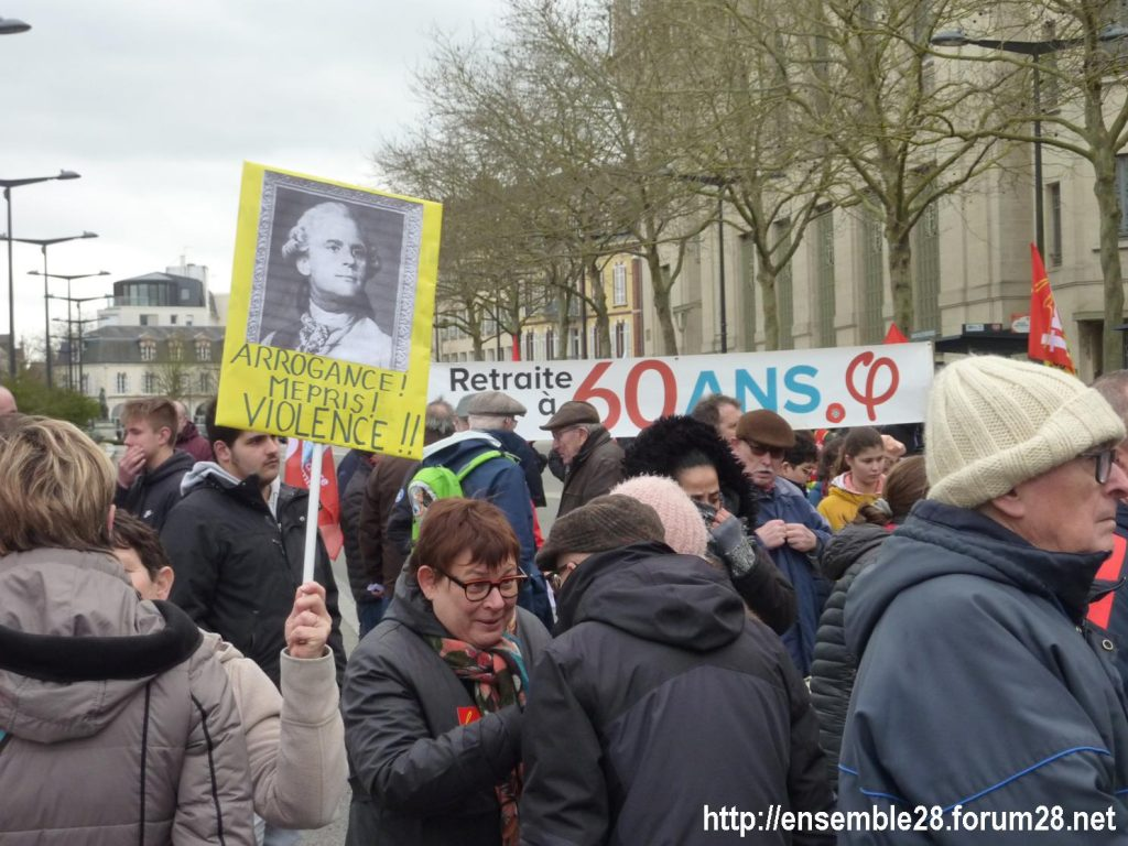 Chartres 20-02-2020 Rassemblement-Manifestation Retraites 09