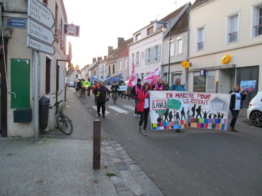 Courville 21-02-2020 Marche Retraites Laval-Paris 0