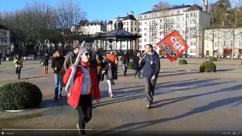 Marche Laval-Paris Départ de Laval 17-02-2020