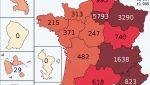 Coronavirus par régions