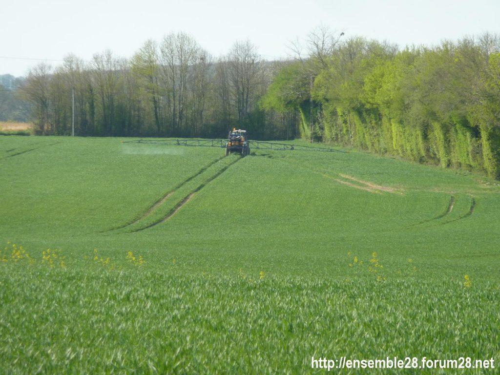 Épandage de pesticides dans le Perche 2