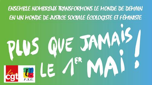 CGT FSU visuel-1er-mai-demain