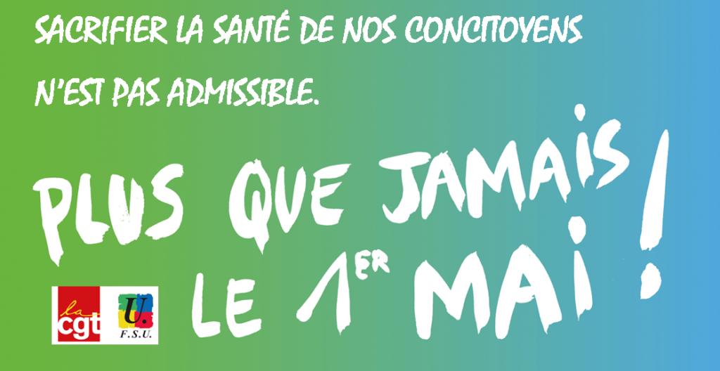 CGT FSU visuel-1er-mai-santé