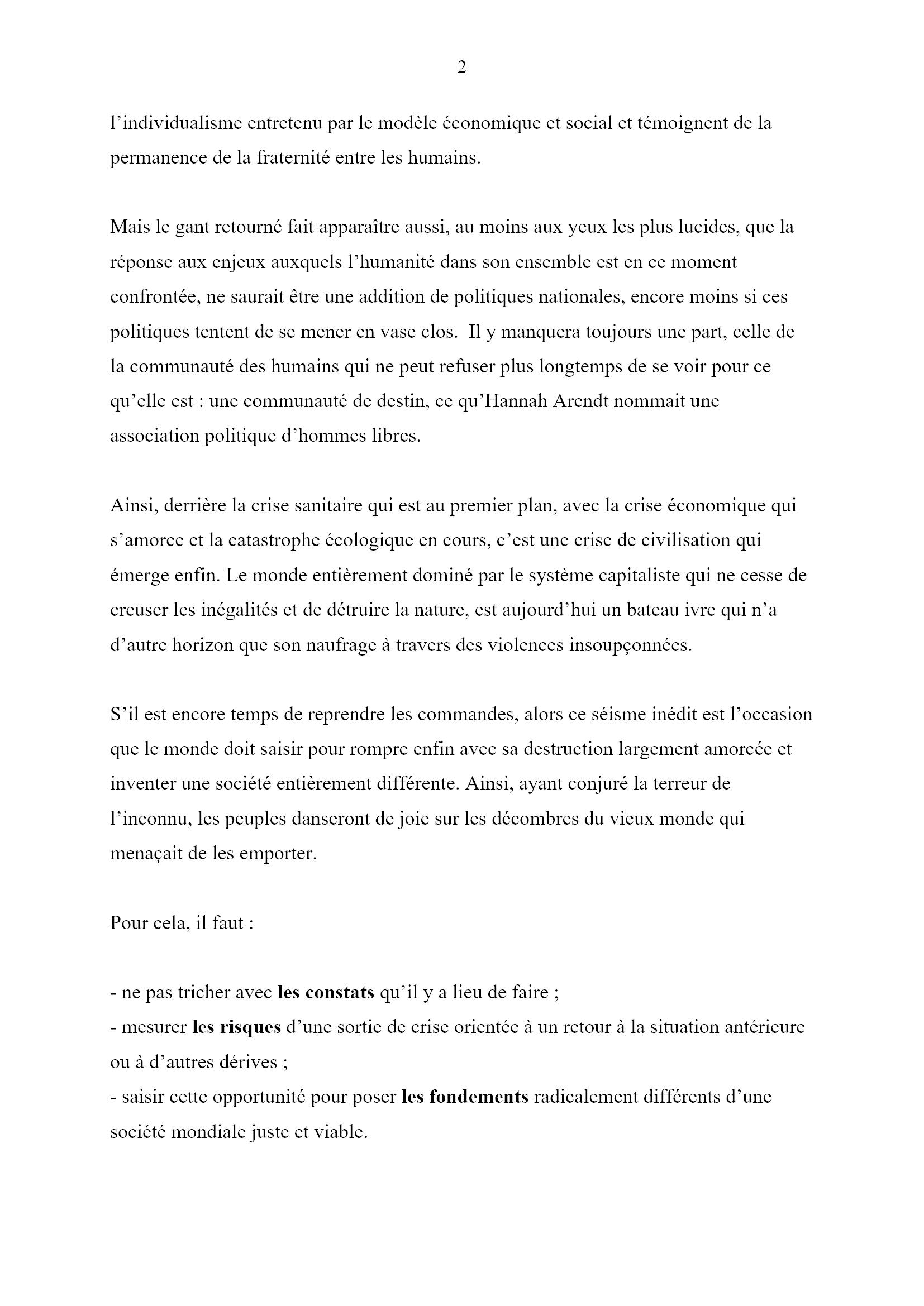 Des jours heureux... Monique Chemillier-Gendreau 2x16