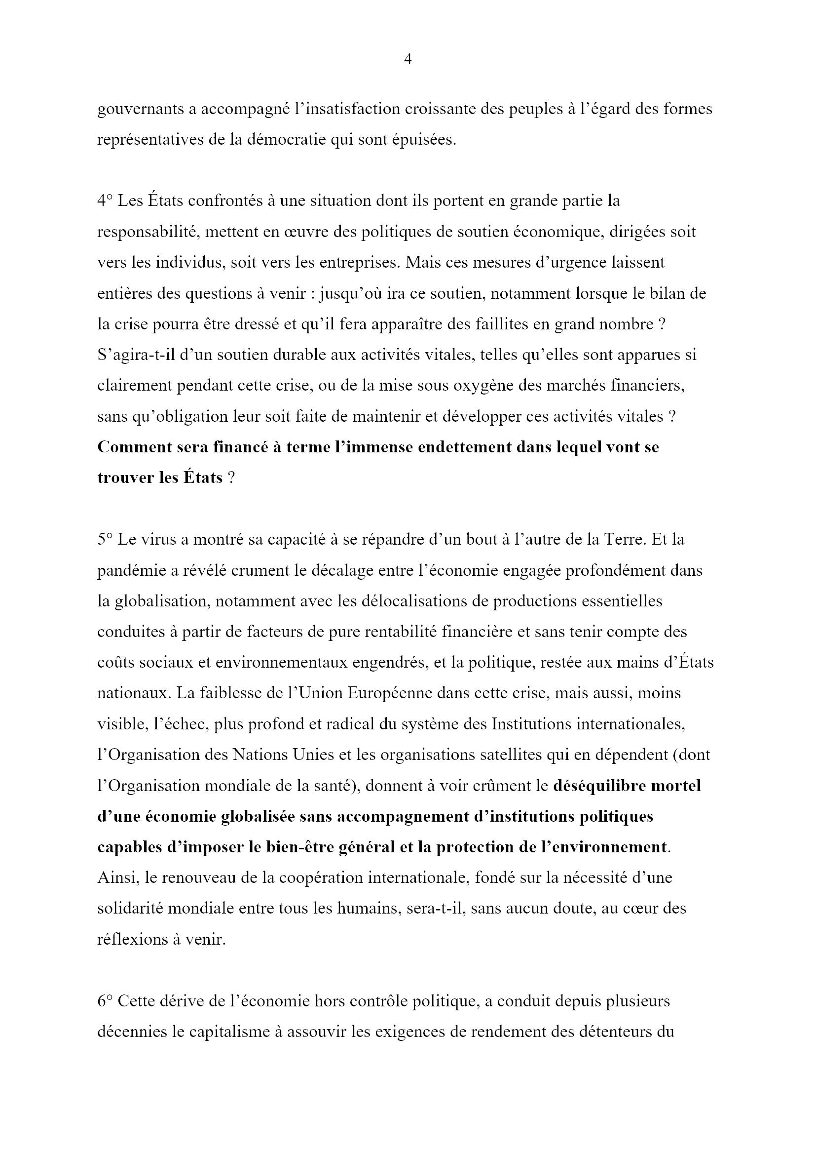 Des jours heureux... Monique Chemillier-Gendreau 4x16