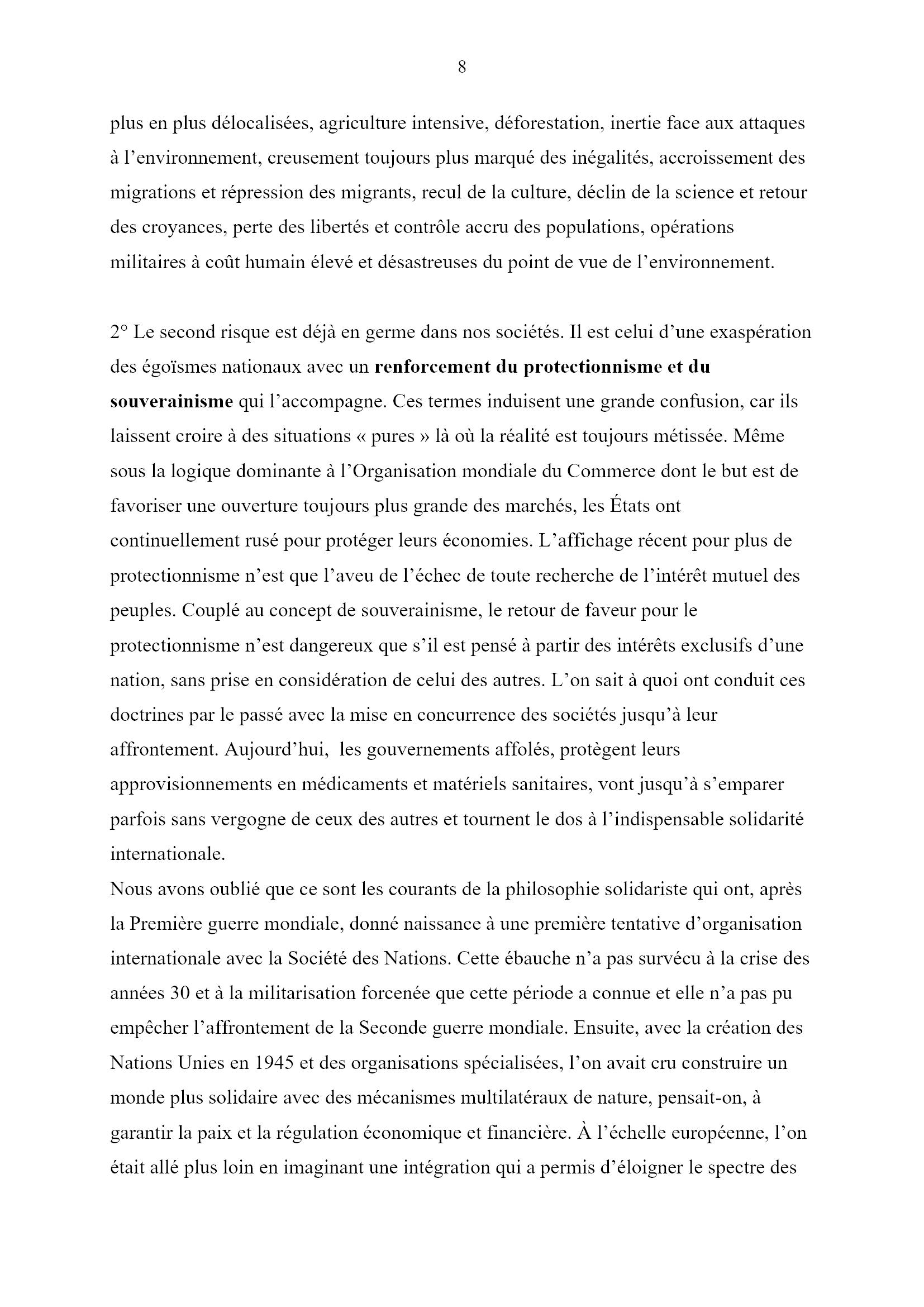 Des jours heureux... Monique Chemillier-Gendreau 8x16