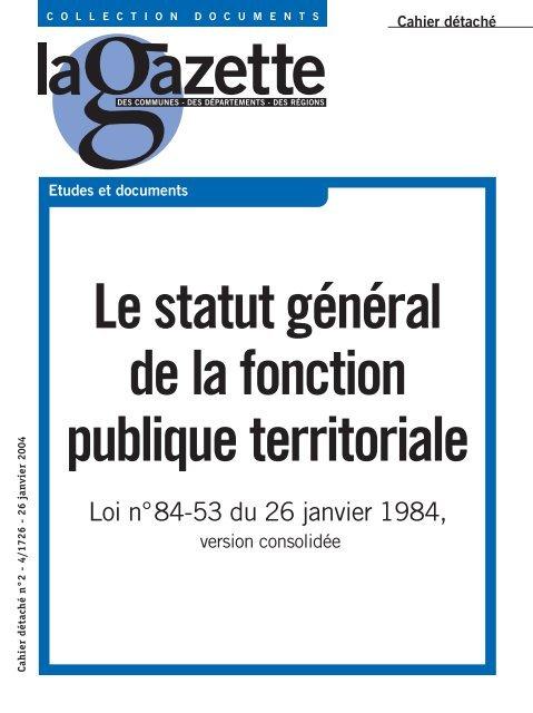 le-statut-general-de-la-fonction-public-territoriale-comprendre-pour-