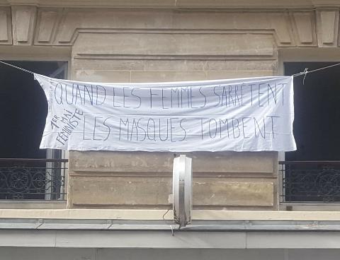 Paris 18ème 1er Mai 2020