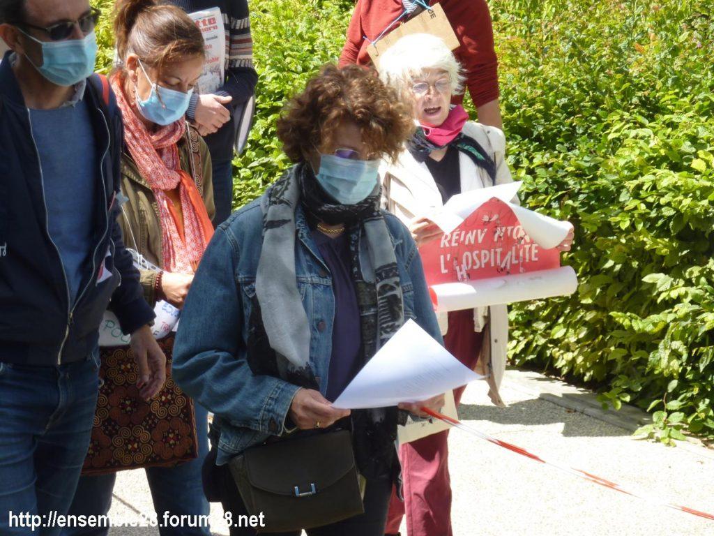 Chartres 13-06-2020 Chaîne AERéSP Régularisation des Sans-Papiers 6