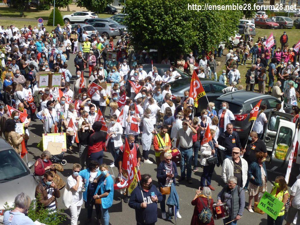 Chartres 16-06-2020 Manifestation Soignants Santé 01