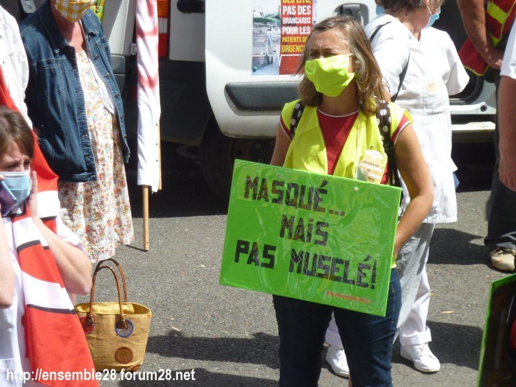 Chartres 16-06-2020 Manifestation Soignants Santé 02