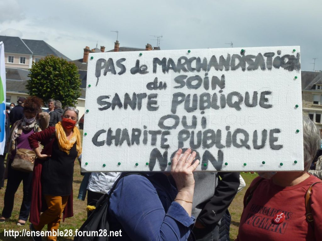 Chartres 16-06-2020 Manifestation Soignants Santé 04