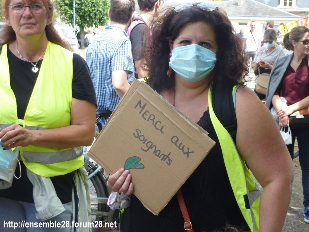 Chartres 16-06-2020 Manifestation Soignants Santé 08