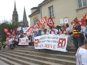 Chartres 30-06-2020 Manifestation Soignants Santé 00