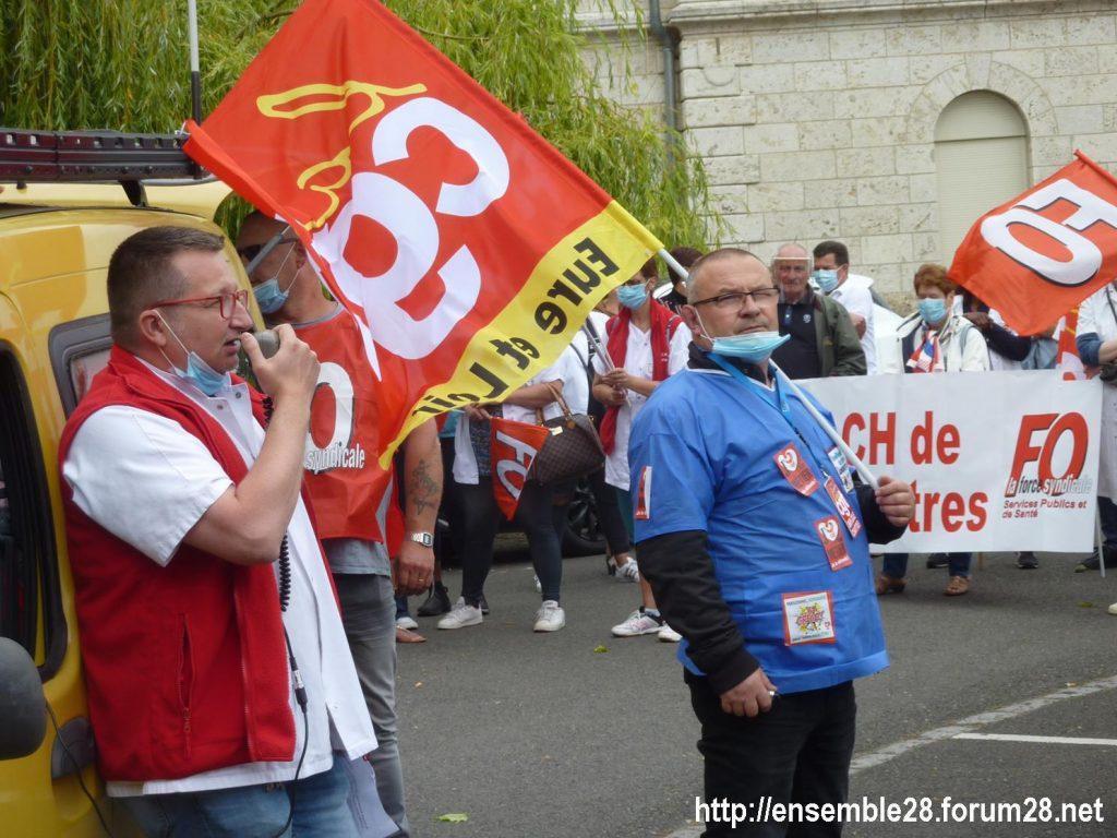 Chartres 30-06-2020 Manifestation Soignants Santé 01