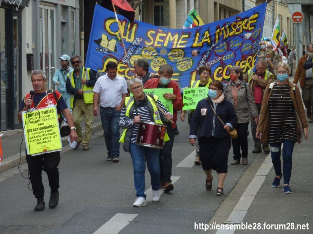 Chartres 30-06-2020 Manifestation Soignants Santé 10