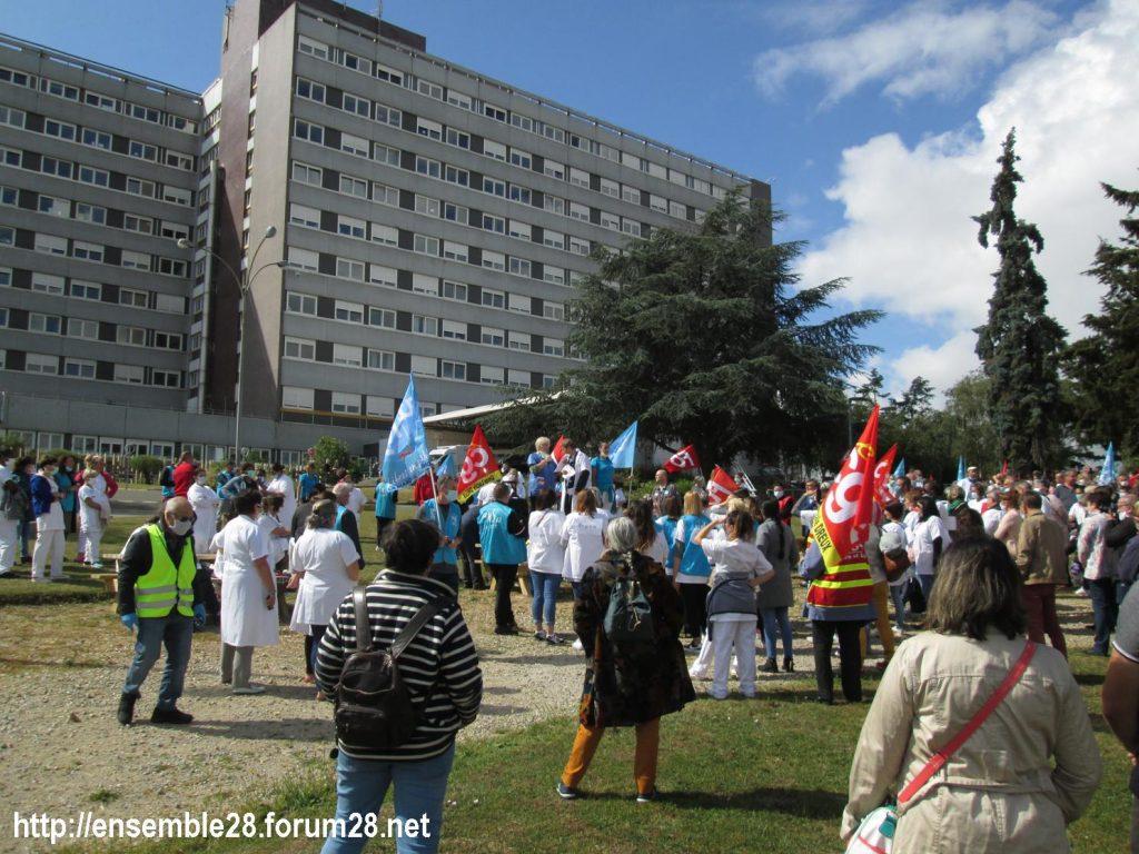 Dreux 16-06-2020 Manifestation Soignants Santé 06