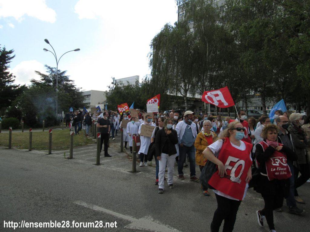 Dreux 16-06-2020 Manifestation Soignants Santé 10