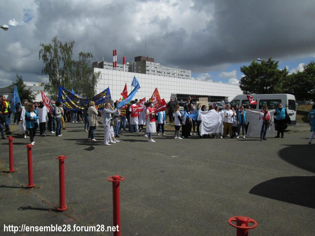 Dreux 16-06-2020 Manifestation Soignants Santé 13