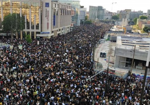 Photo Rassemblement contre les violences policières Bobigny 02-06-2020