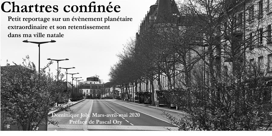 Chartres confinée [Couverture]