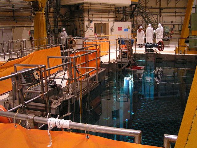 Piscine nucléaire, Cardoso [Simone Ramella, WikimediaCommons]