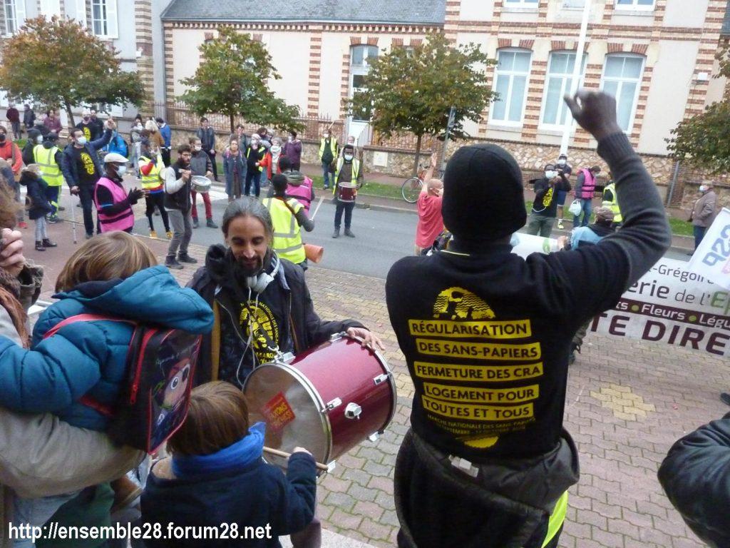 2020-10-12 Marche Sans-Papiers Nogent-le-Rotrou Photo 12