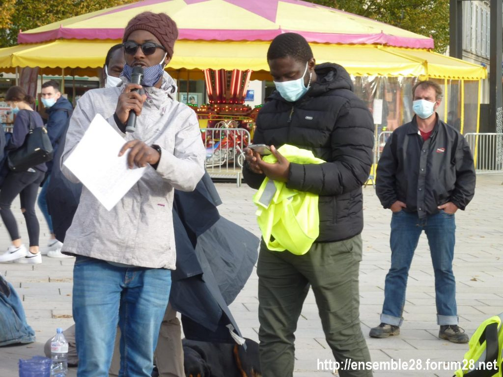 2020-10-13 Marche des Sans-Papiers Chartres 07