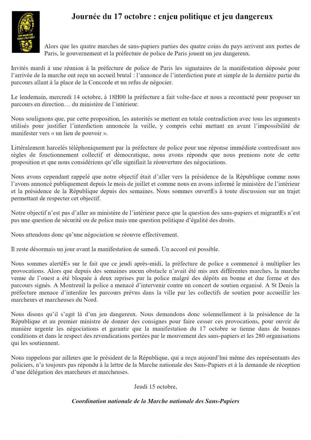ComPress Marche nationale des Sans-Papiers 2020-10-15 (2)