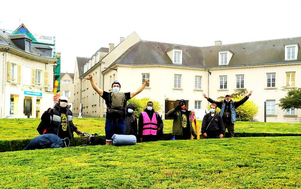 Marche des Sans-Papiers Chartres 2020-10-14 [Photo Christophe Pénicaud] 3
