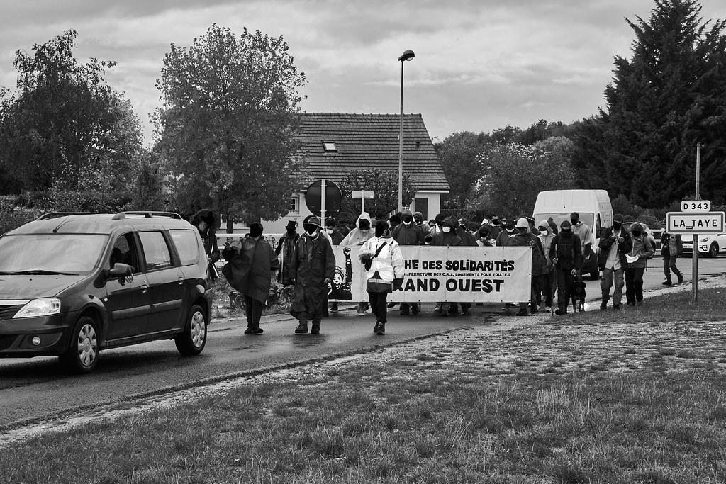 Marche des Sans-Papiers La Taye - Chartres 2020-10-13 [Photo Dominique Joly] 04
