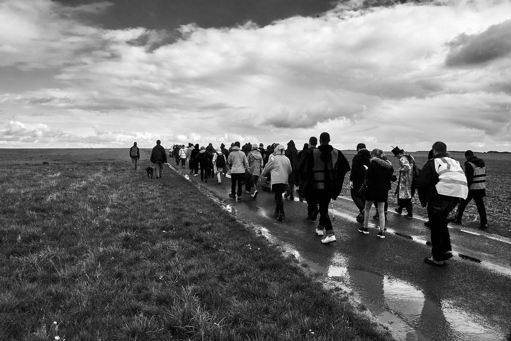 Marche des Sans-Papiers La Taye - Chartres 2020-10-13 [Photo Dominique Joly] 06