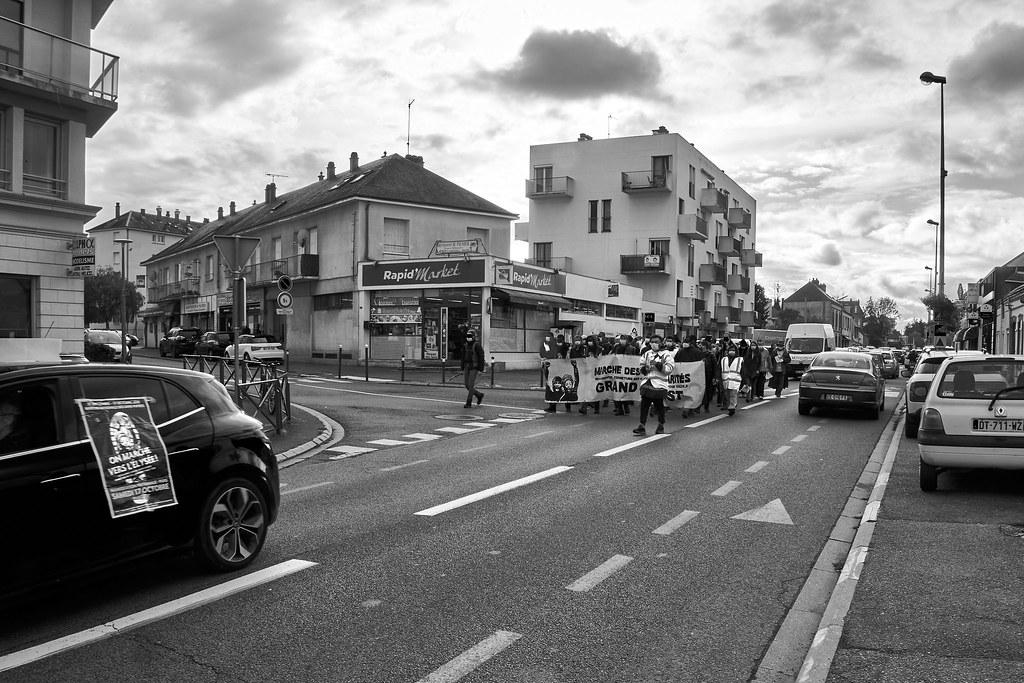 Marche des Sans-Papiers La Taye - Chartres 2020-10-13 [Photo Dominique Joly] 08