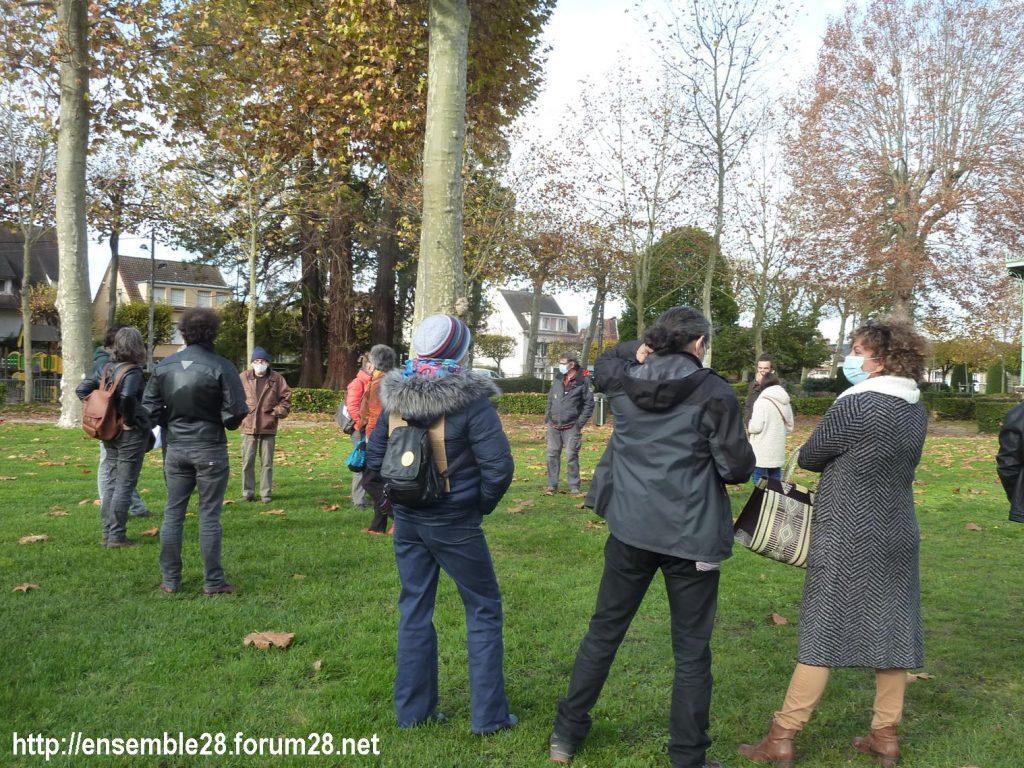 Nogent-le-Rotrou 13-11-2020 Cercle Intermittents et autres 01