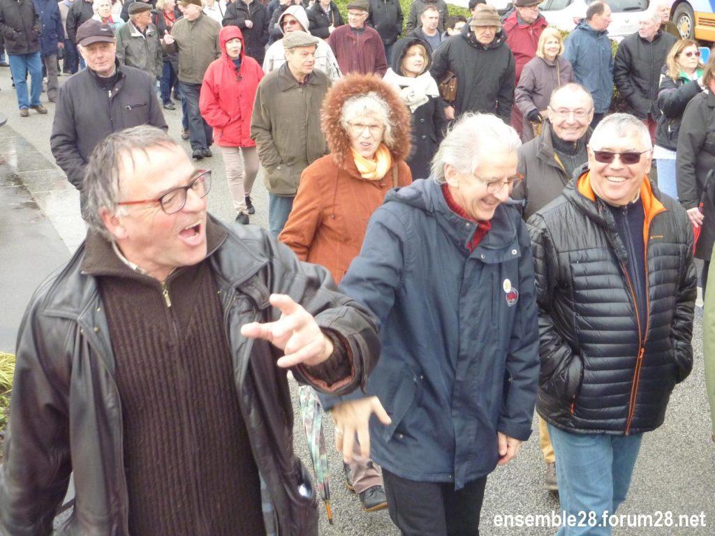 Chartres 15-03-2018 Manifestation Retraités 07