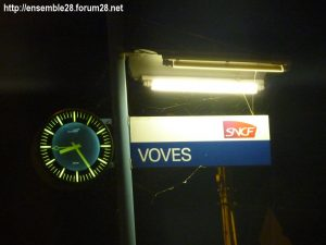 Voves Gare Horloge