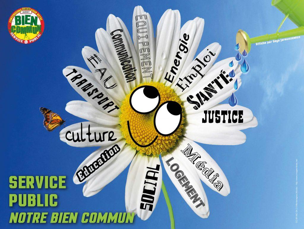 Aff Service public Notre bien commun