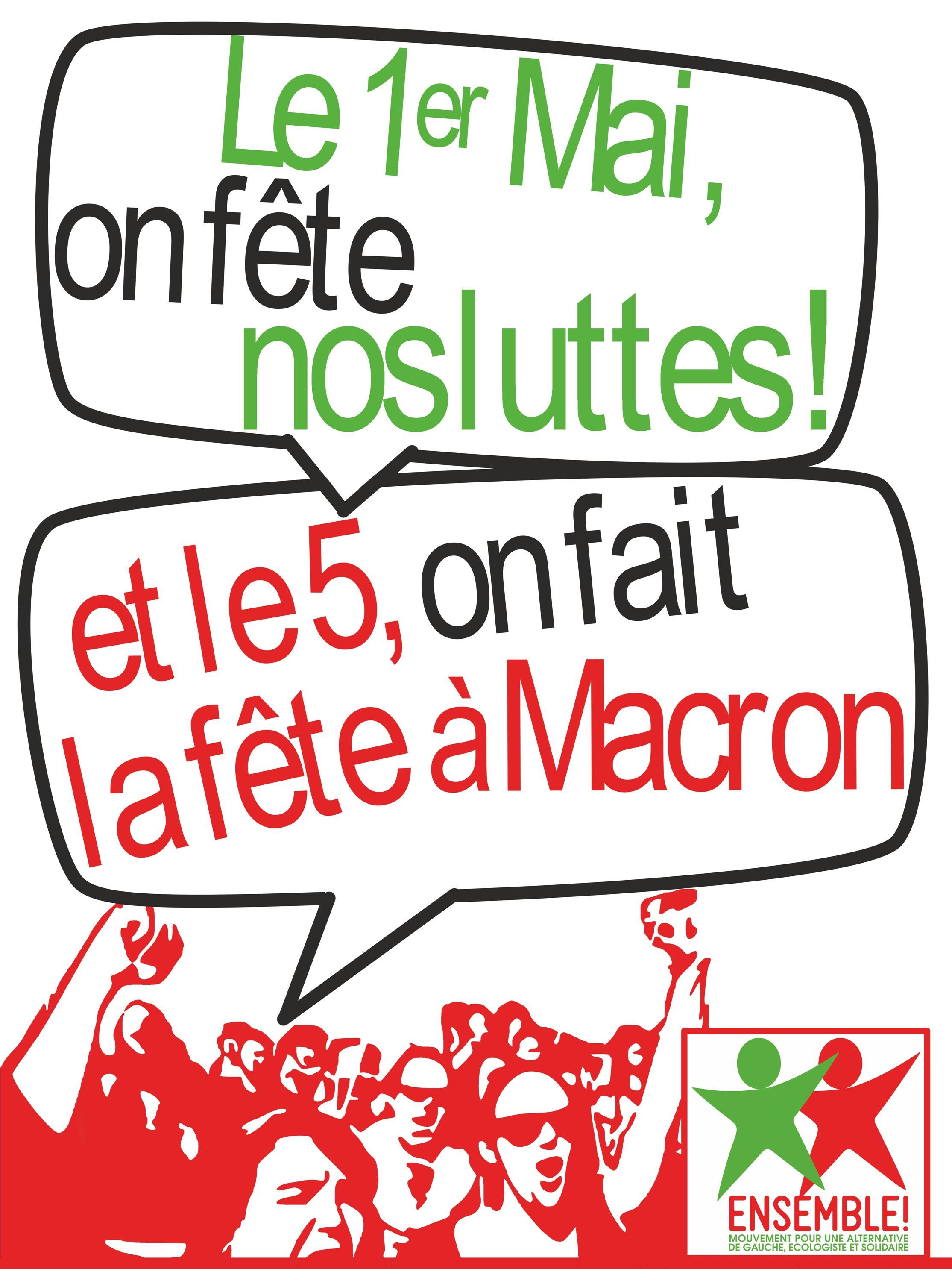 E! 1er 5 mai Affiche