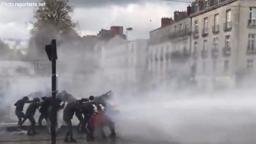 Nantes, 14-04-2018, arrosage gratuit